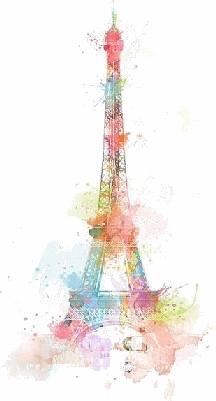 Explosive Colors Paris PNG by SaadieGSM