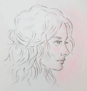 Rose-lit