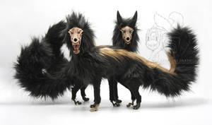 Corrupt Saevus Wolf Koll and Seth Artdolls
