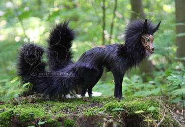 Corrupt Saevus Wolf Koll OOAK Posable Artdoll