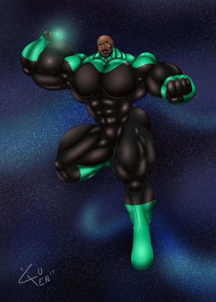 June Fanart: Green Lantern by DSz