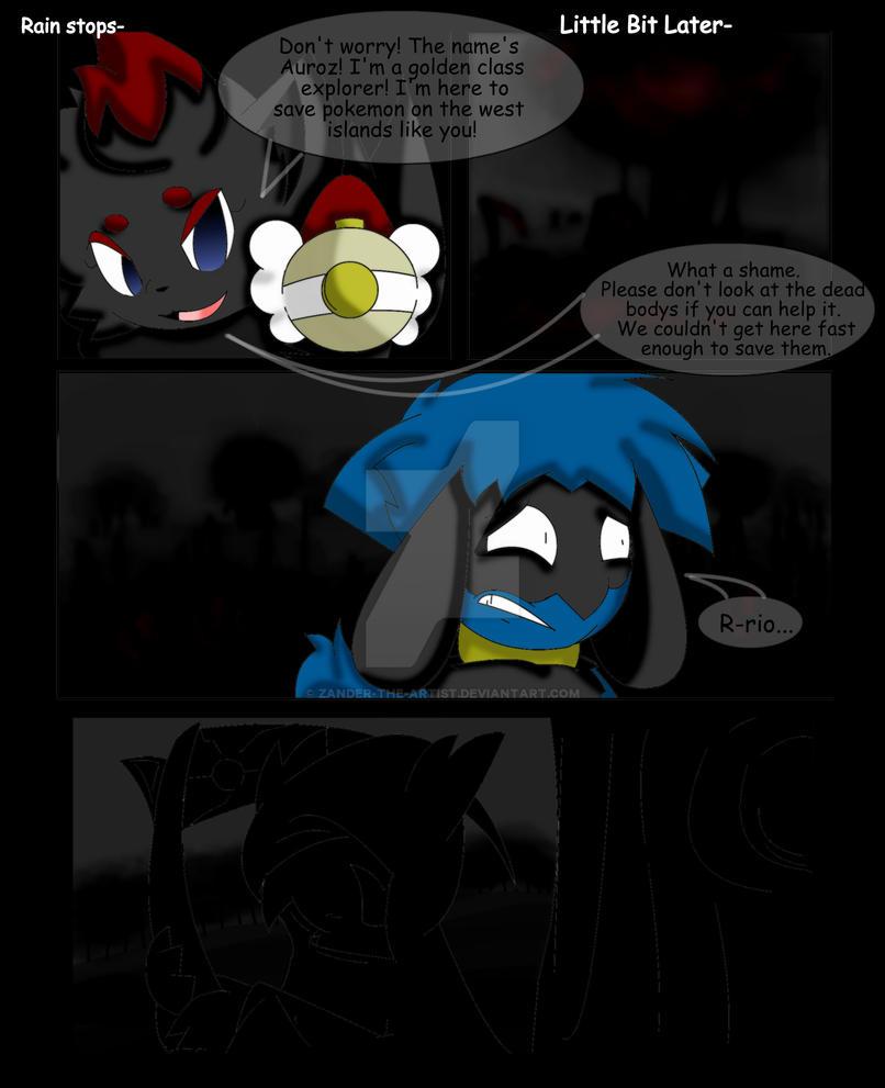 Pokemon Team Electro Aura Page 3 by Zander-The-Artist