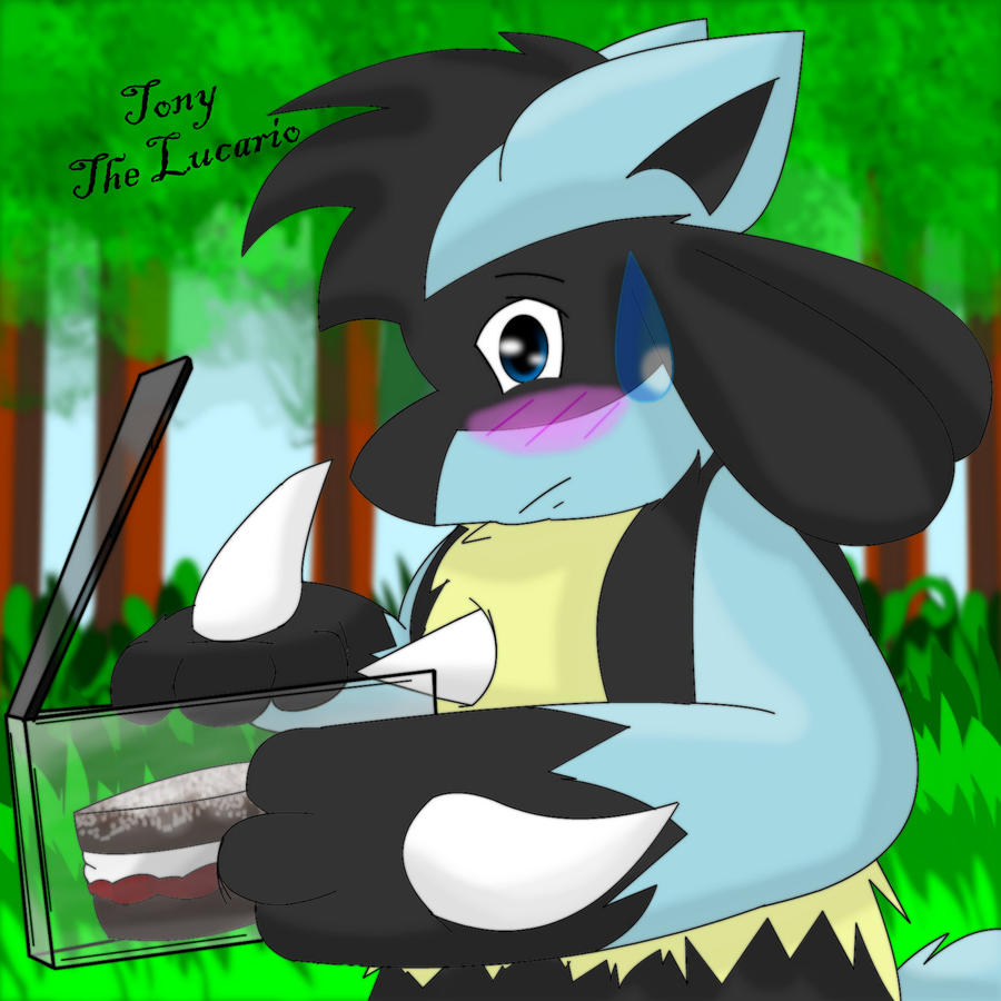 Tony The Lucario ID by Zander-The-Artist
