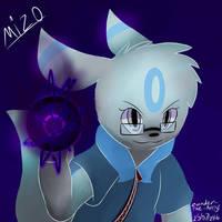Mizo The Umbreon In The Dark by Zander-The-Artist
