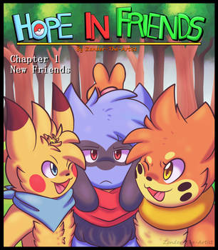 Hope In Friends Chapter 1 Redo Cover by Zander-The-Artist