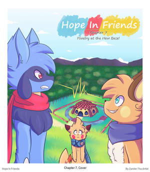 Hope In Friends Chapter 7 Cover