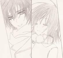 kaname and yuuki by Yume-no-Yuuki