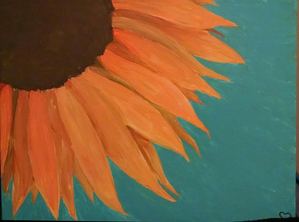 Sunflower by loverofthestrange