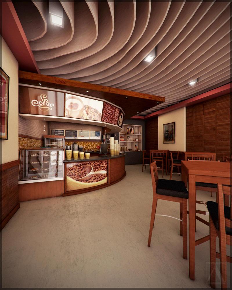 Shop Design: Small Coffee Shop Design By AnonymusDesignStudio On DeviantArt