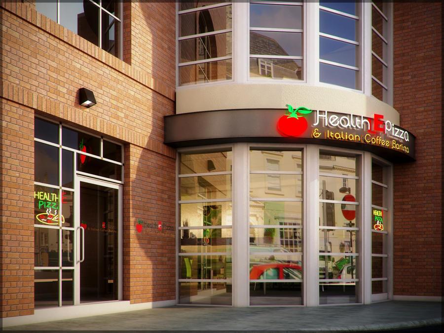 Restaurant exterior by anonymusdesignstudio on deviantart for 5 star restaurant exterior