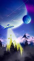2D ufo landscape