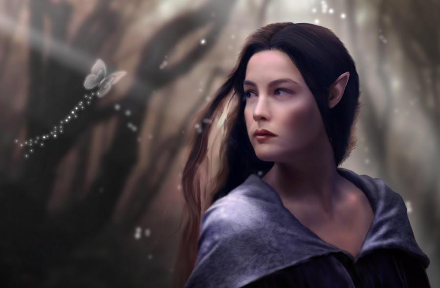Elf Princess Arwen By Booui On Deviantart