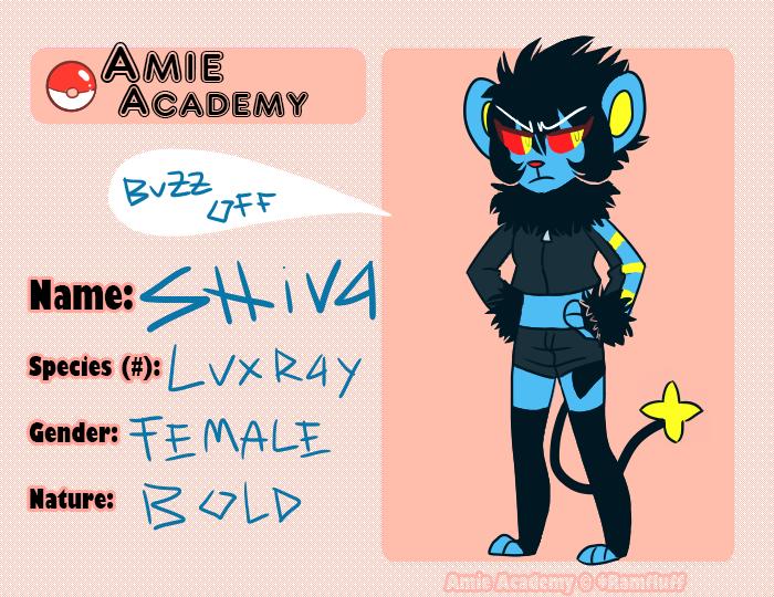 Amie Academy: Shiva by Aka-Chibi