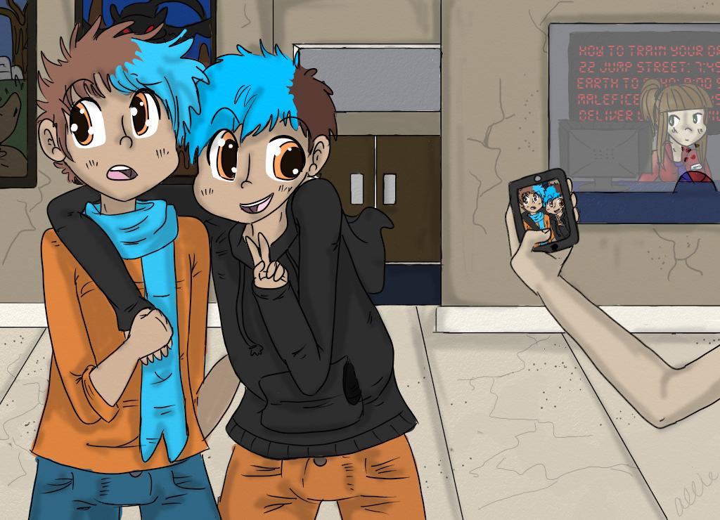AT-Pixelz and dawson by ilyallie