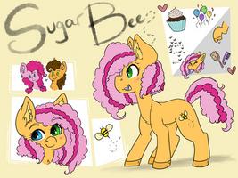 MLP: Sugarbee : by alliekiitty