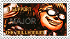I support... The Millennium by KikkaChan