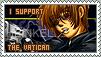 I support... The Vatican 2