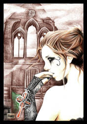 Goth girl 01 by YashamaruUmezawa92