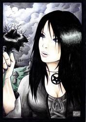 Goth girl 02 by YashamaruUmezawa92
