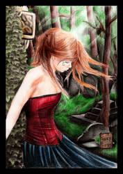 Goth girl 03 by YashamaruUmezawa92