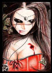 Goth girl 04 by YashamaruUmezawa92