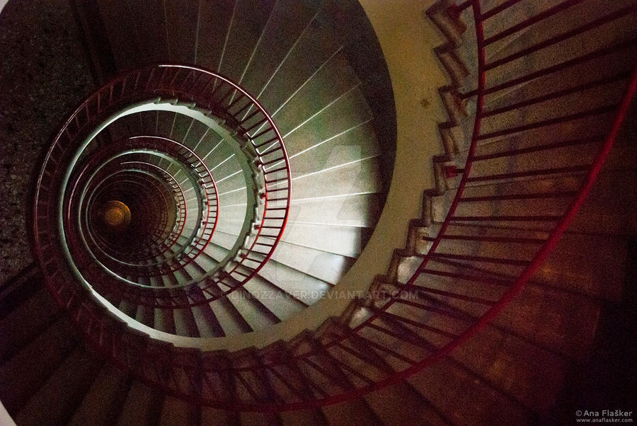 Spiral Stairs by Dinozzaver