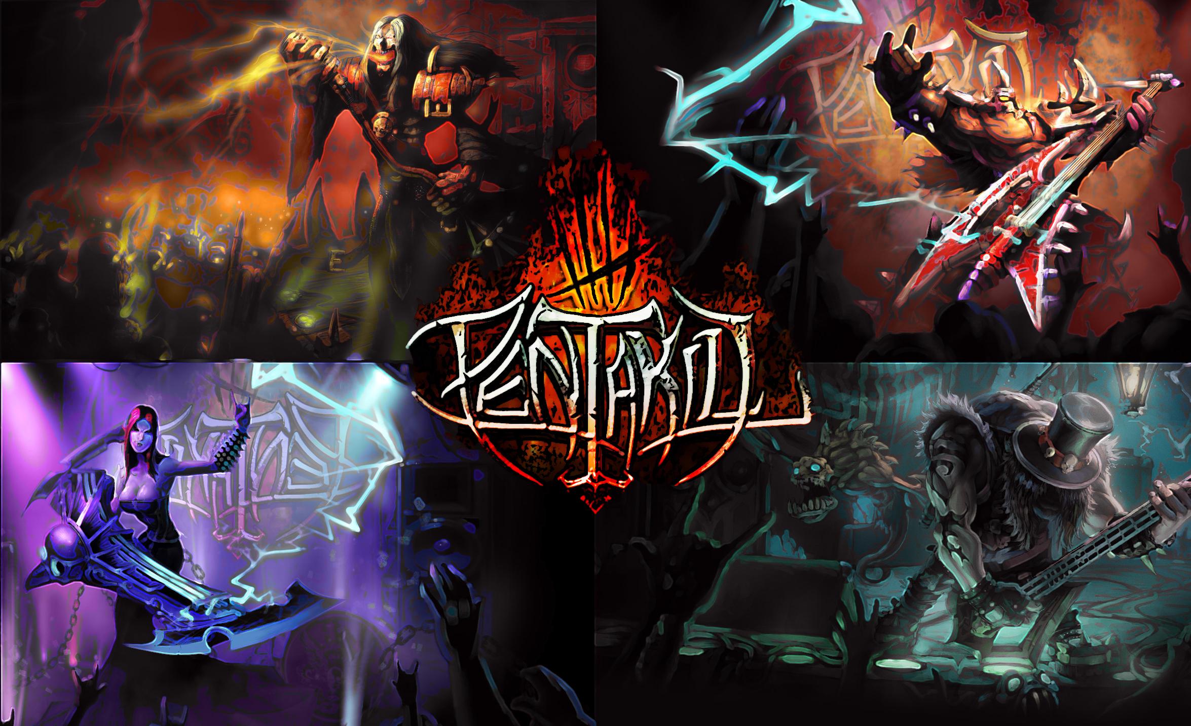 Pentakill Band PENTAKILL by maxride10...