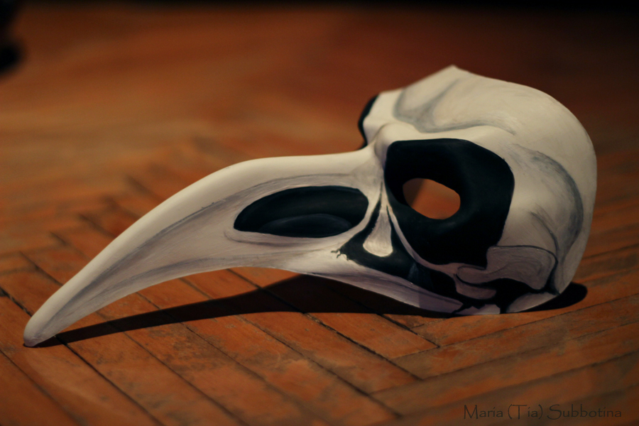 bird's skull by Tia666