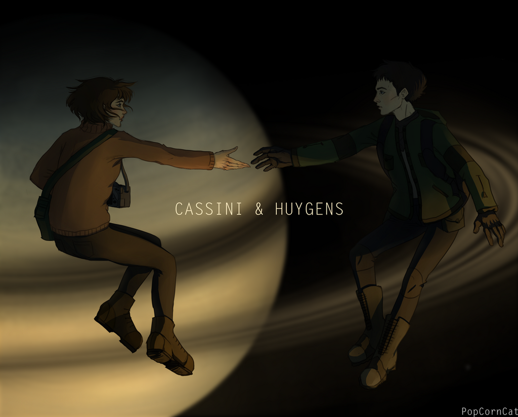 Cassini and Huygens - the end of the mission by l-PopCornCat-l