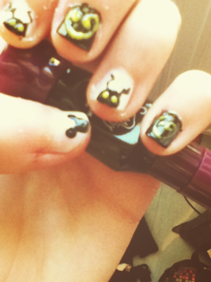 Nails Art : Kingdom Hearts by Bluberry-Pink on DeviantArt
