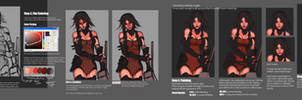 Photoshop Painting Tutorial by ionen