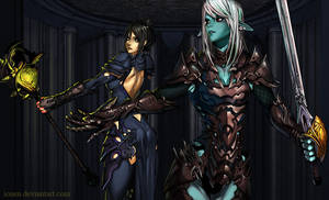 Commission: Kakila's Guardian by ionen