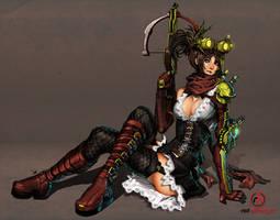 Red Harbinger: Steam-Version by ionen