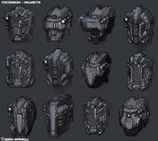 Potemkin: Crowe Helmets by ionen