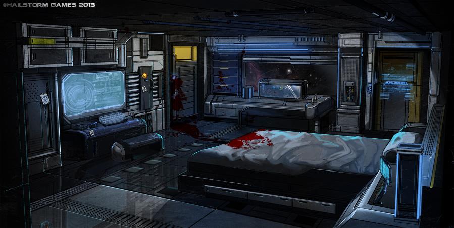 Cyberpunk atmosphere future futuristic sci fi tech for Cyberpunk interior design