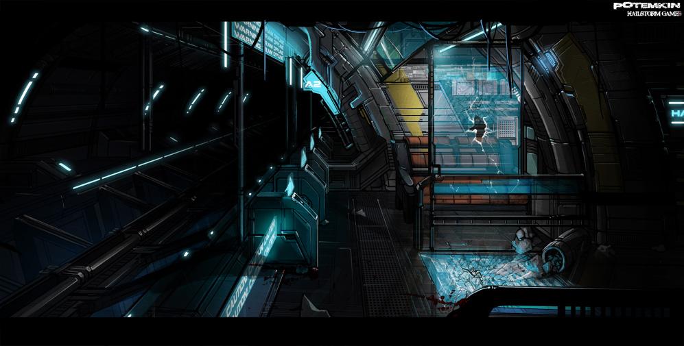 Potemkin: Tram Tunnel by ionen