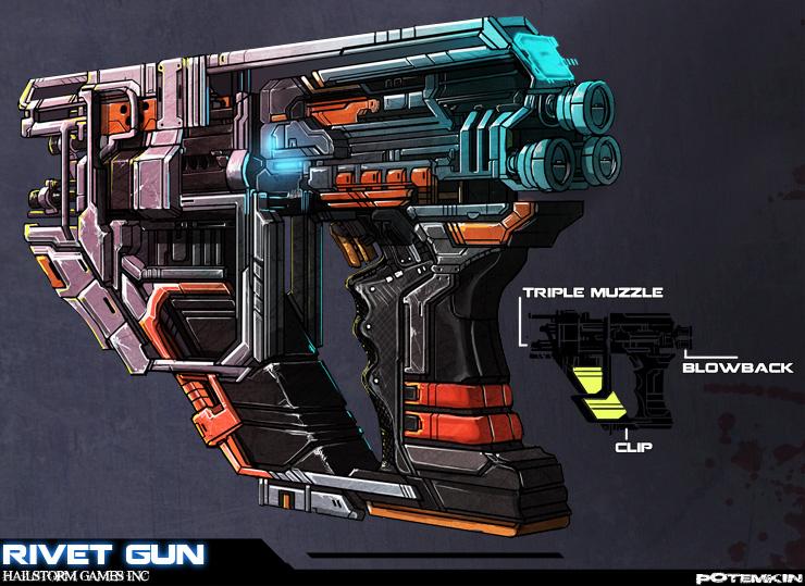 Potemkin: Rivet-Gun by ionen