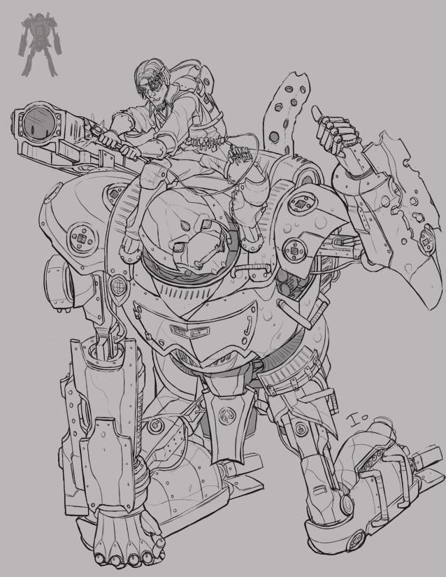 Kokichi + Robot by ionen
