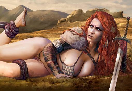 Red Sonja needs her beauty sleep