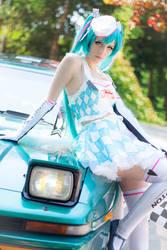 Racing Miku 2019 cosplay