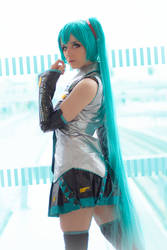 Hatsune Miku cosplay