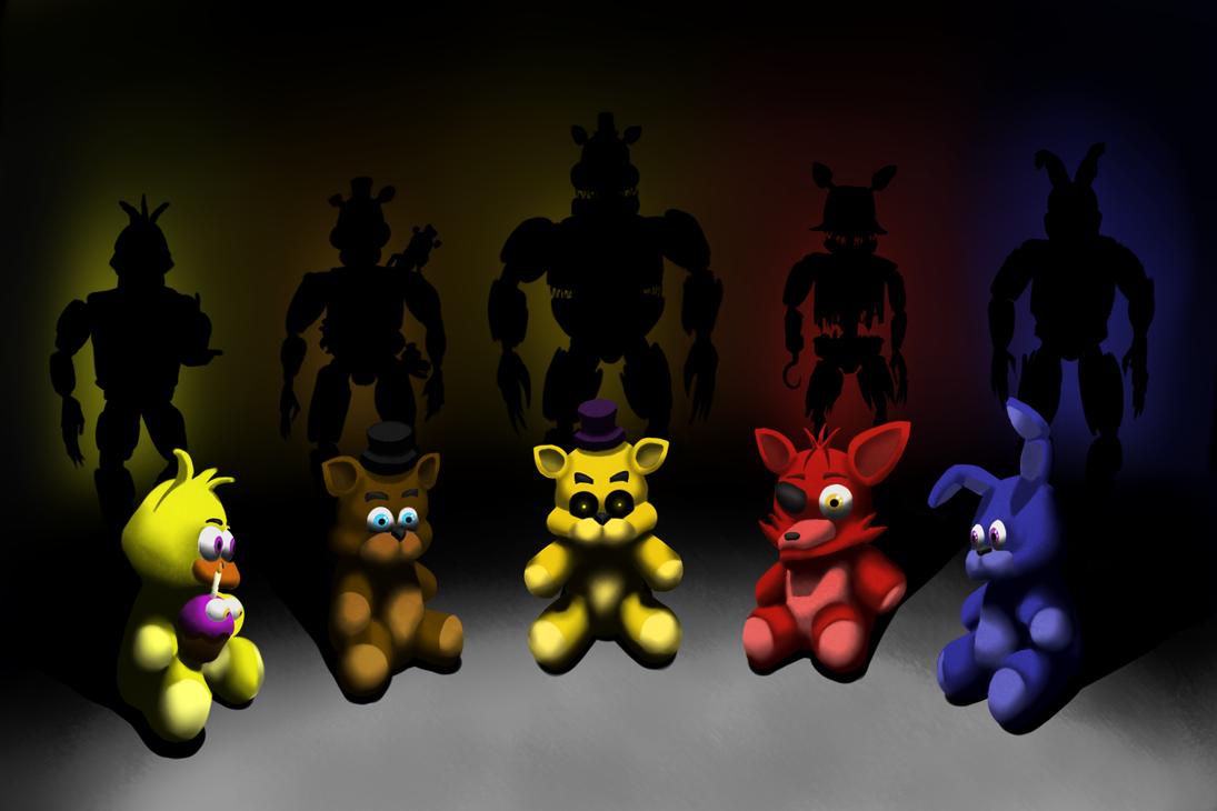 Fnaf 4 Nightmare Animatronics On Active Fnaf Fans: Nightmare