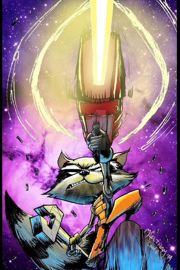 Rocket GO BANG by scribblesartist