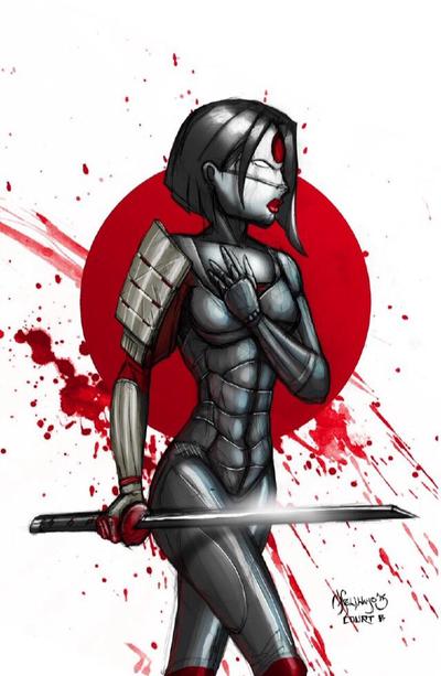 Suicide Katana  by scribblesartist