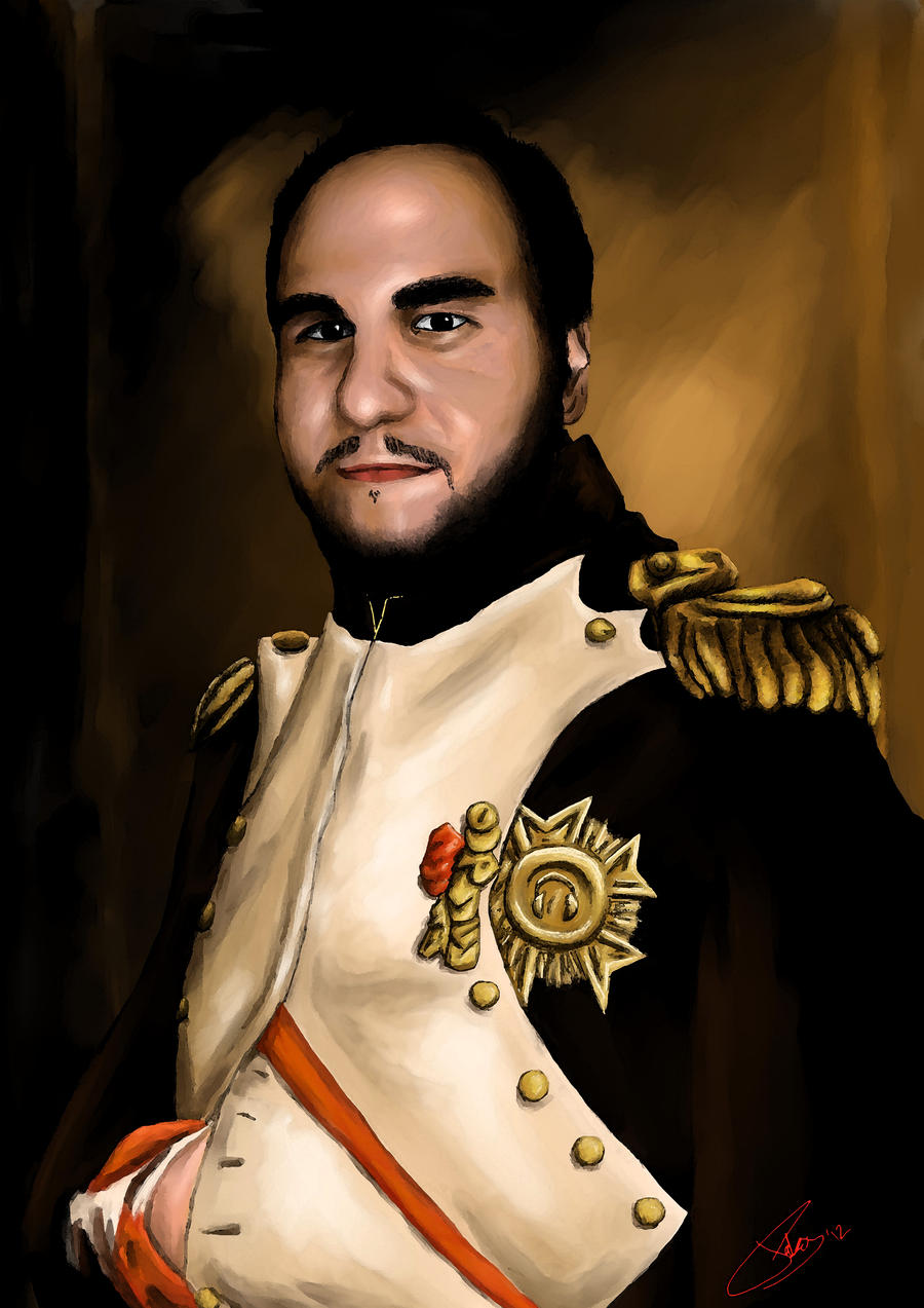 Viktor Napoleon by HunDrenus