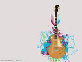 Vector Guitar by gabguevara07