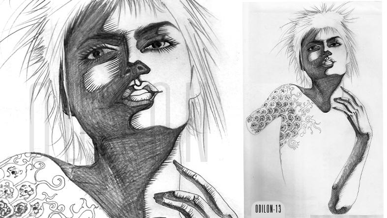 Face_Women#3 by odilon2012