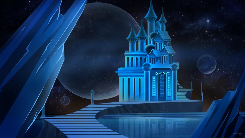 Castle Crystal by odilon2012
