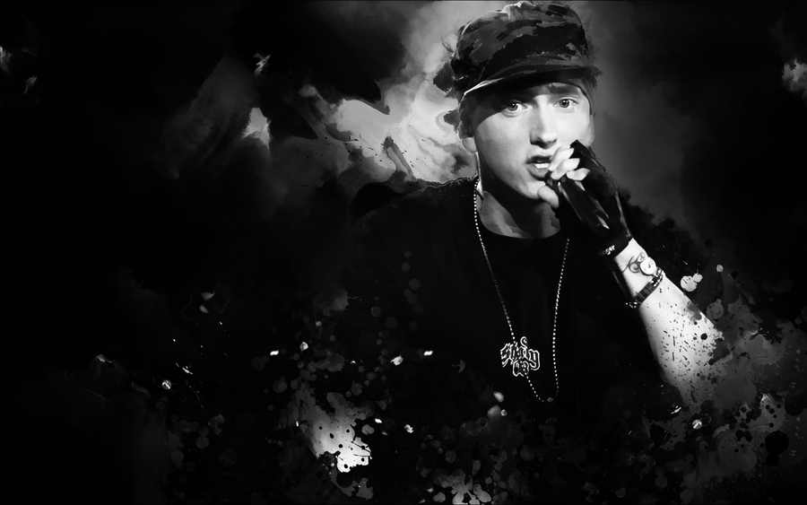 eminem wallpaper 2009. Eminem wallpaper v2 by