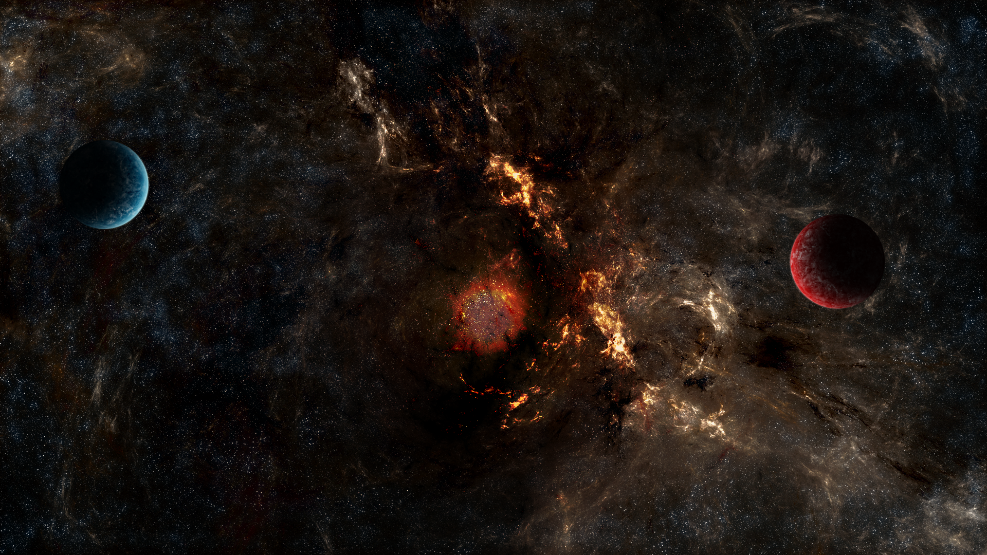 Supernova - 1920x1080 by abluescarab